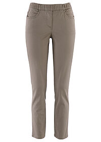 Pantaloni stretch 7/8 gri-bej bpc selection 0