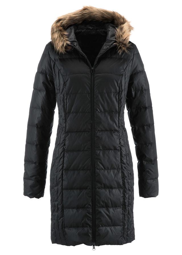da37301f3385 Ľahký prešívaný kabát s páperím čierna • 59.99 € • bonprix