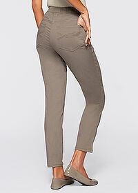 Pantaloni stretch 7/8 gri-bej bpc selection 2