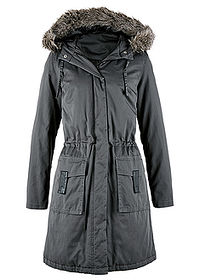 Kurtka parka antracytowy bpc selection 0