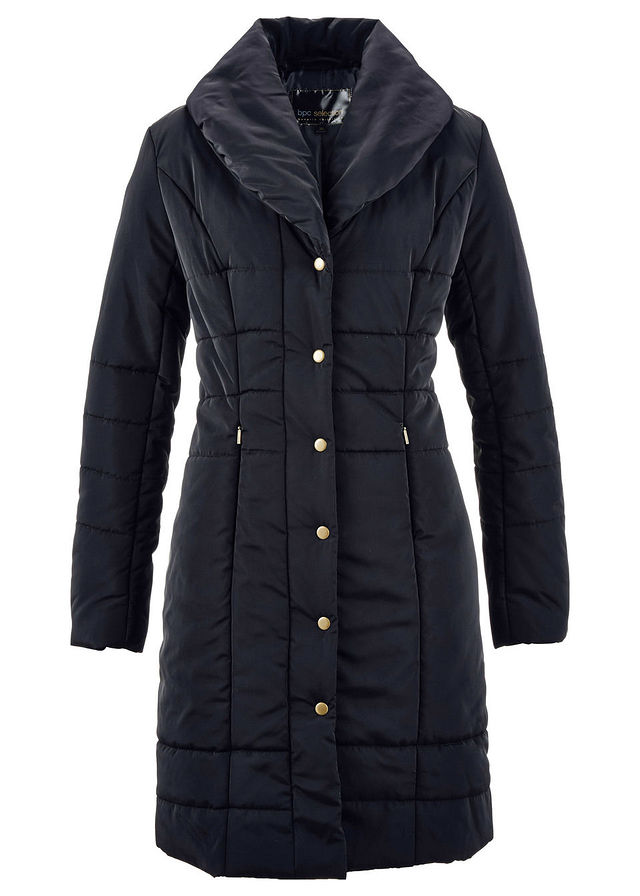 Kabát fekete Hosszú és divatos • 13999.0 Ft • bonprix f4cf28923d