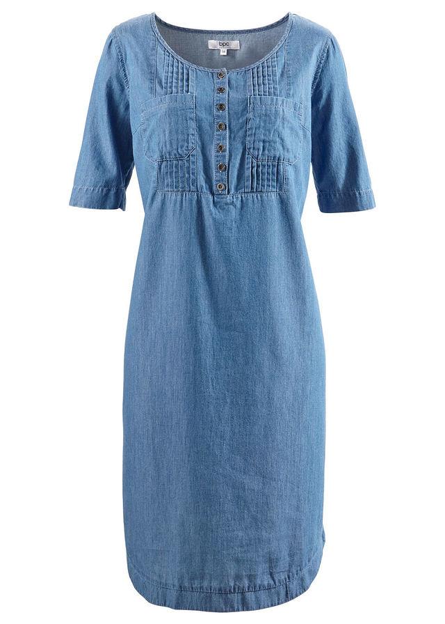 3fea7f9c3c Sukienka bawełniana dżinsowa