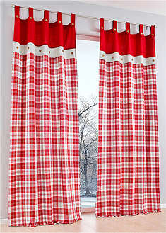 Draperie cadrilată, 1buc bpc living bonprix collection 1