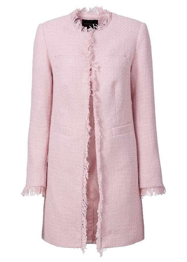 87de76b29f Buklé kabát világos rózsaszín Divatos • 13999.0 Ft • bonprix