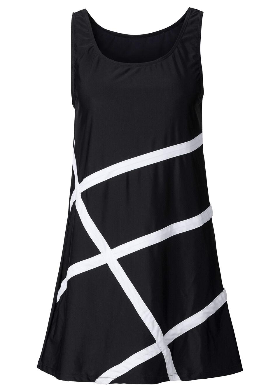 Платье пляжное из купального материала