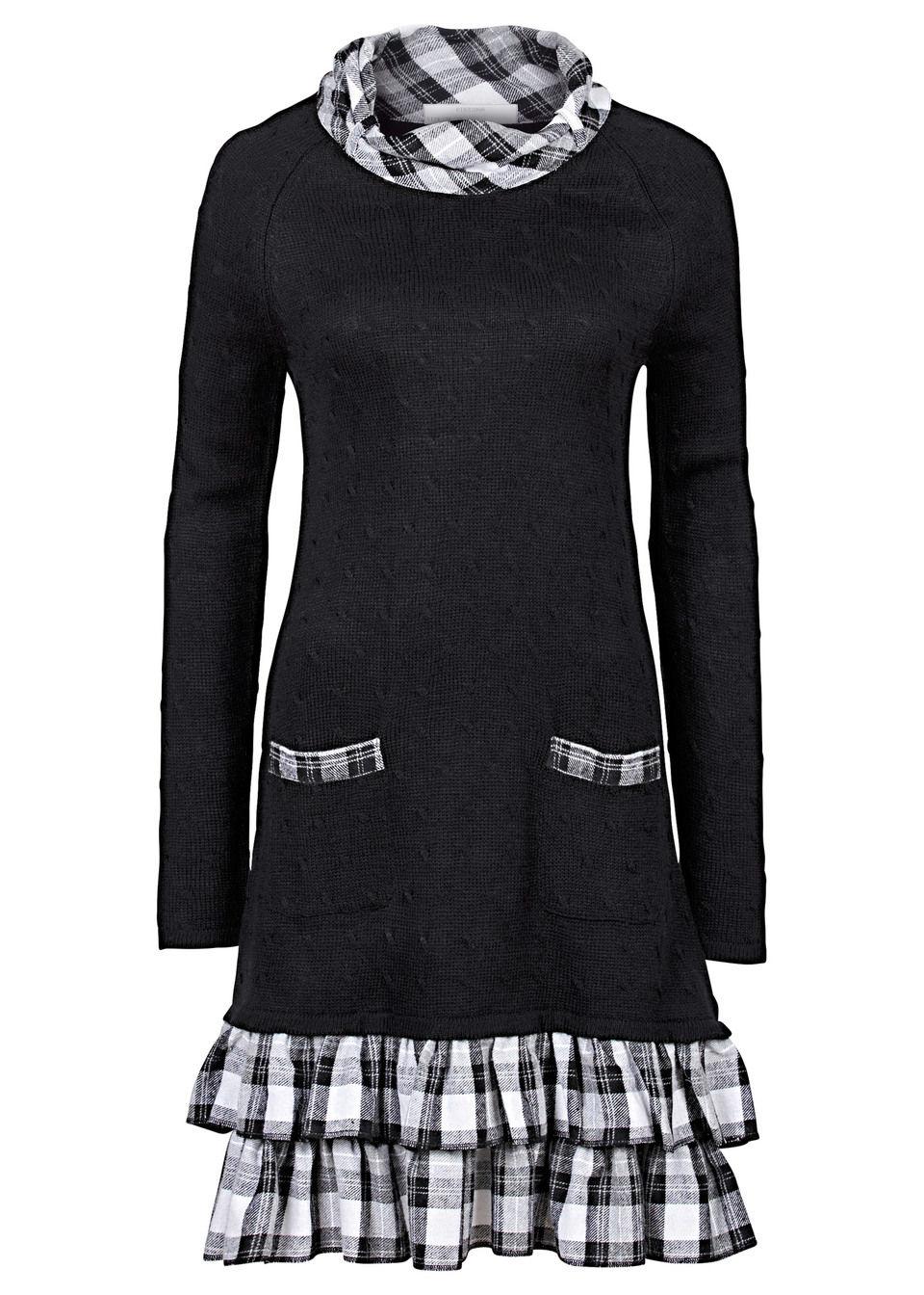 Rochie tricotată bonprix
