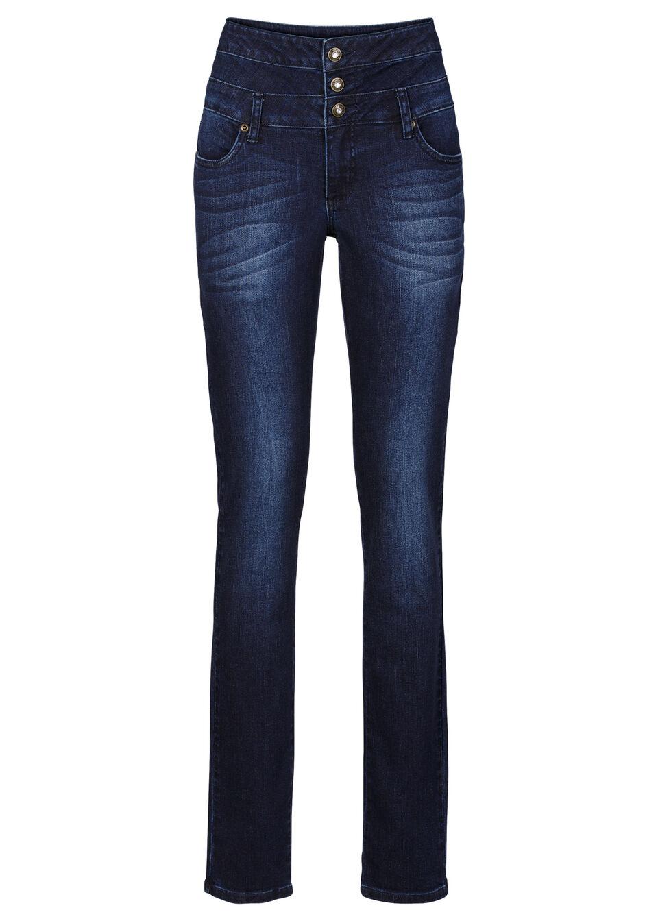 Jeanşi Skinny cu talie înaltă bonprix de la RAINBOW