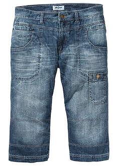 Dżinsy 3/4 Regular Fit Straight niebieski