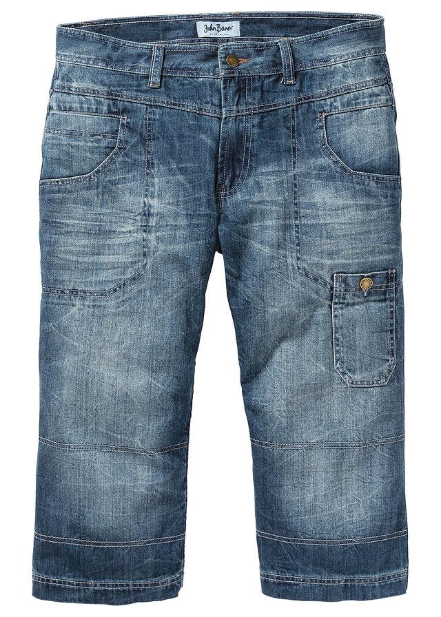 3/4-ové džínsy Regular Fit Straight