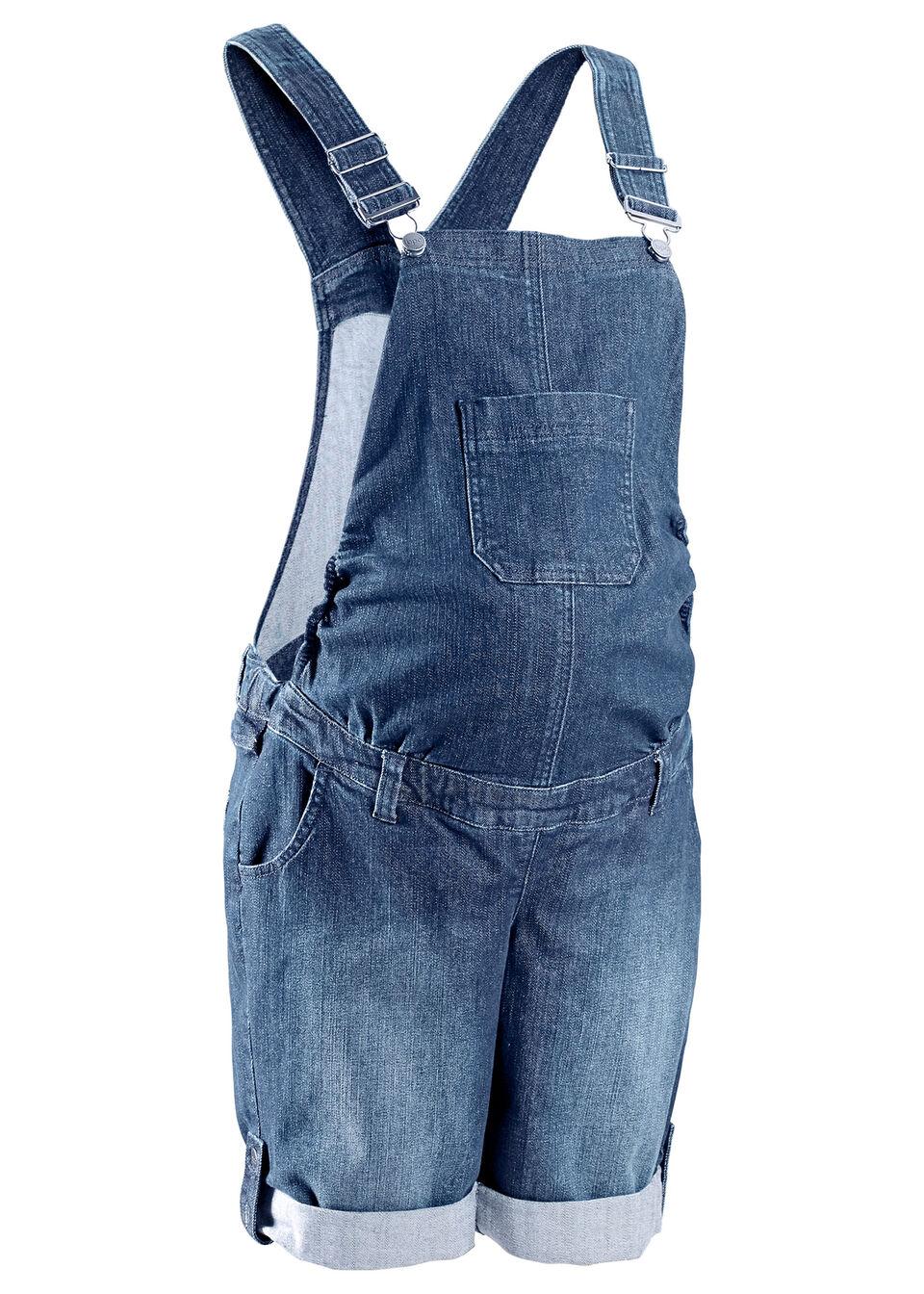 Tehotenské džínsy na traky bonprix