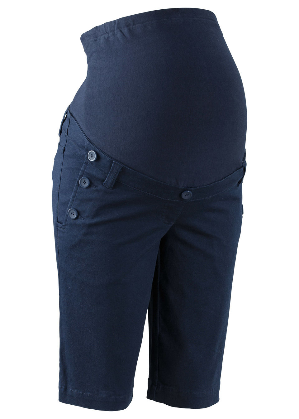 Pantaloni cu nasturi pentru gravide bonprix