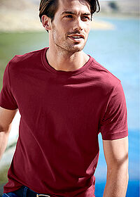 Tricou (3buc/pac) bordo+verde inchis+alb bpc bonprix collection 6