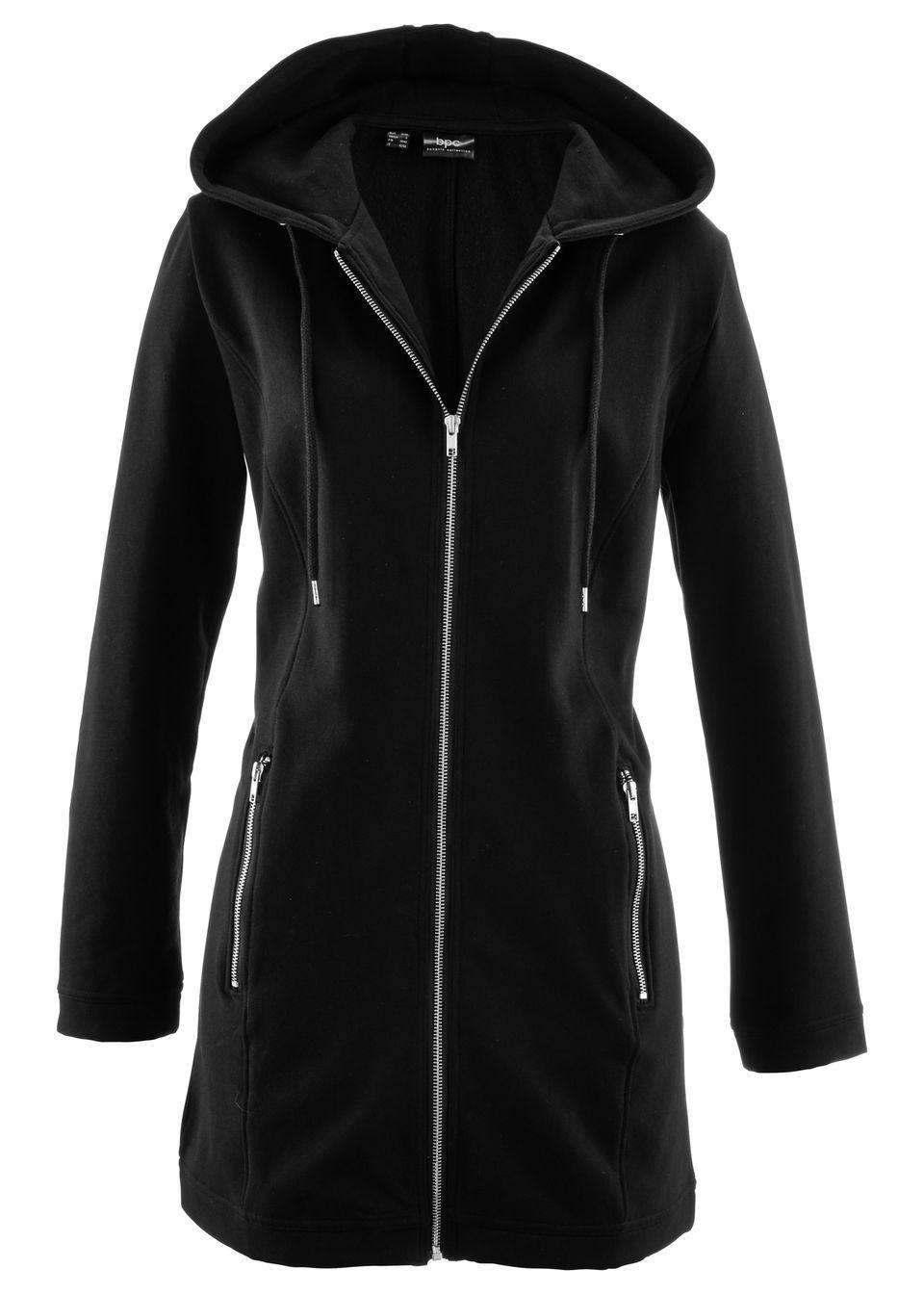 Длинная куртка из трикотажа от bonprix