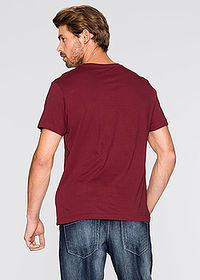 Tricou (3buc/pac) bordo+verde inchis+alb bpc bonprix collection 2