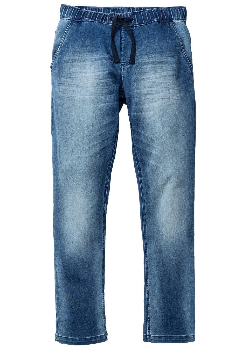 Трикотажные джинсы Regular Fit Straight