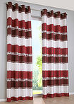 Draperie jacquard dungat (1buc) bordo bpc living bonprix collection 1