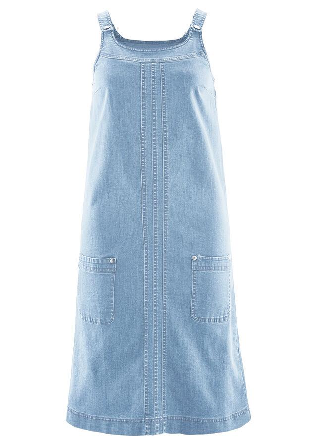 a80122d7870 Джинсовое платье-стретч синий «потертый» • 879.0 грн • bonprix