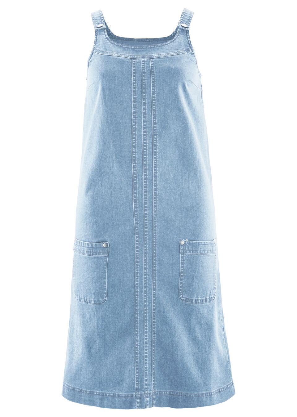 Платье из денима стрейч от bonprix