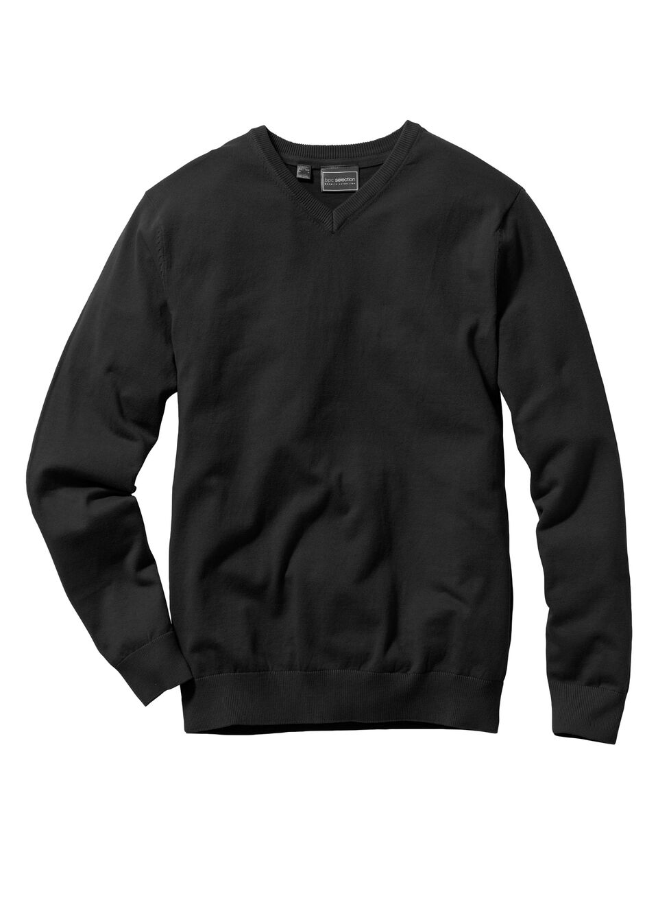 Пуловер Regular Fit с V-образным вырезом от bonprix