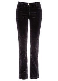 Pantaloni stretch raiaţi negru bpc bonprix collection 0