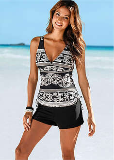 Top plażowy tankini bpc selection 34