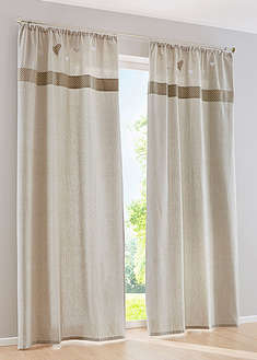 "Draperie ""Ashley"" (1buc/pac)-bpc living bonprix collection"