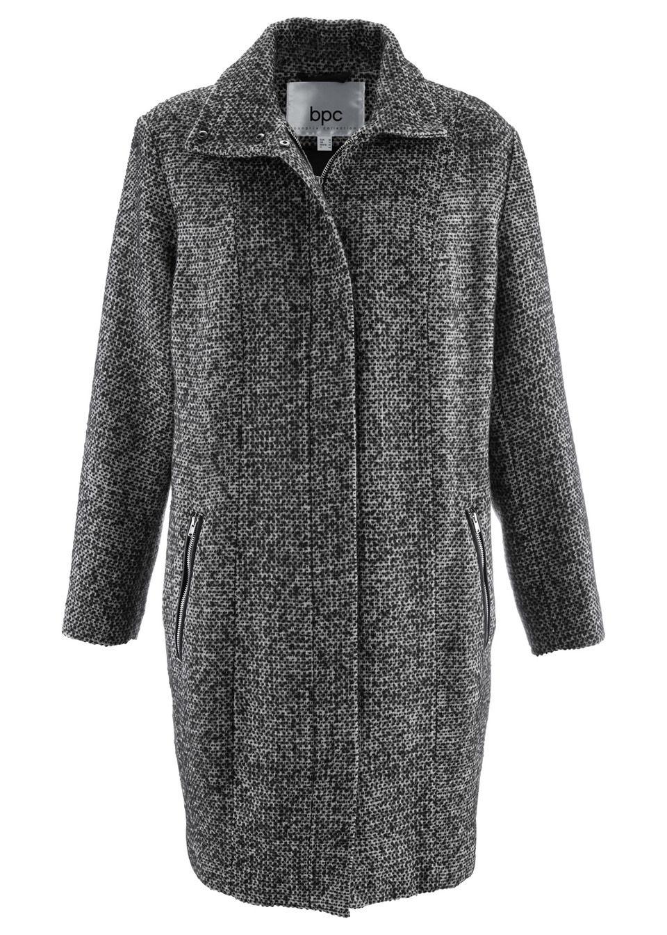 Непринужденное пальто из искусственной шерсти
