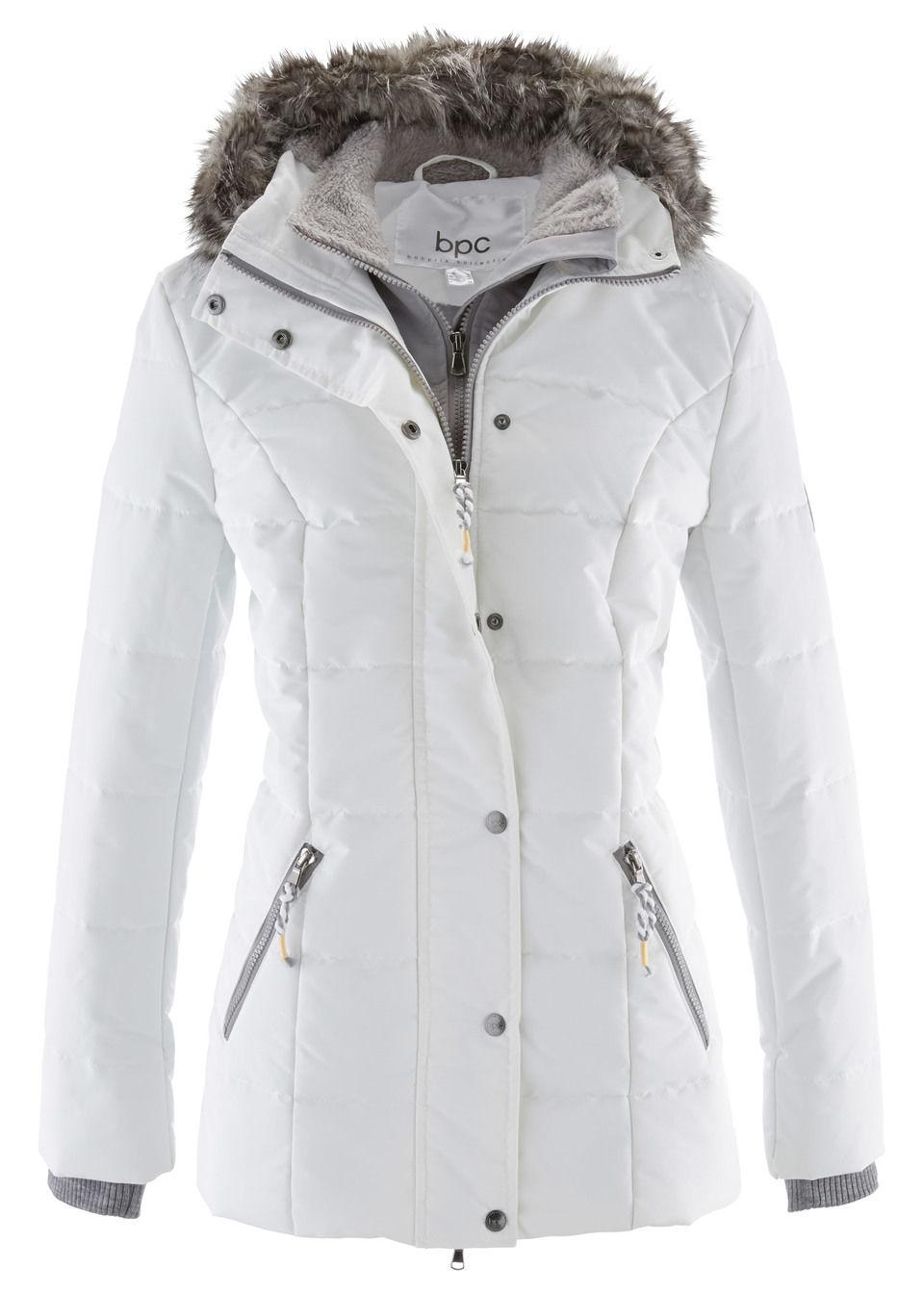 Купить Куртки и плащи, Куртка 2 в 1, bonprix, цвет белой шерсти