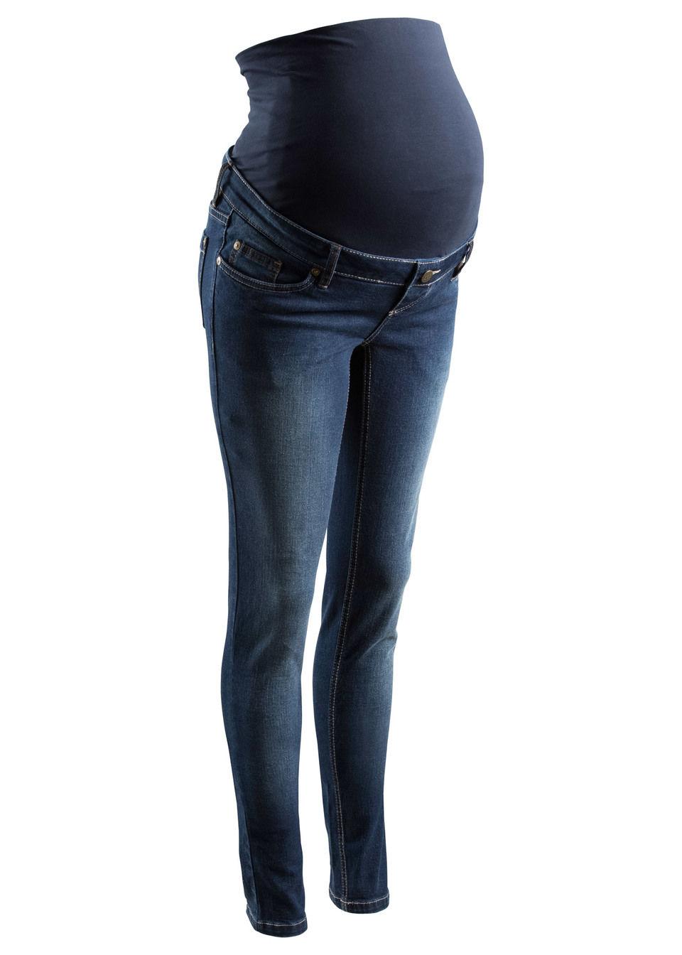Blugi Skinny pentru gravide bonprix