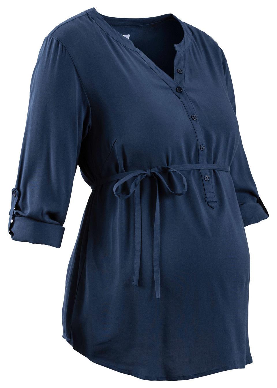 Для будущих мам: блузка с функцией кормления