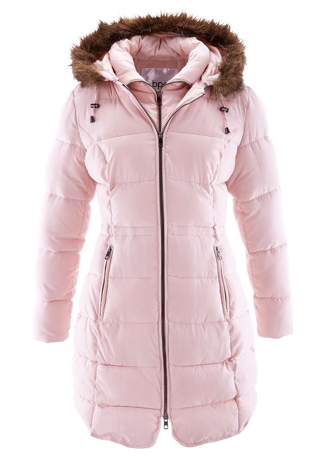 b964415da6 Krátky kabát s kapucňou jemná ružová • 54.99 € • bonprix