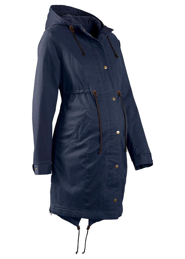 Kismama téli kabát sötétkék Levehető • 21999.0 Ft • bonprix