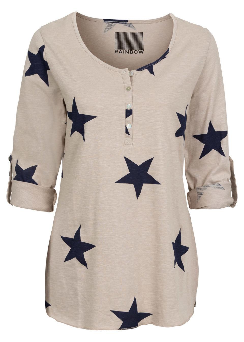 Bluză cu steluţe bonprix