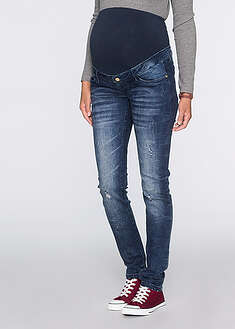 Jeans gravide cu efecte destroyed, skinny-bpc bonprix collection