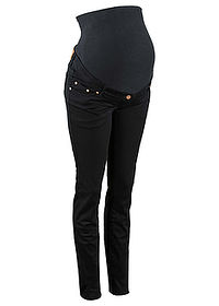 Pantaloni skinny gravide negru bpc bonprix collection 0