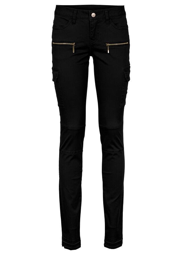 Kapsáčové nohavice čierna S nasadenými • 24.99 € • bonprix e50f92df18a