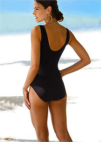Costum baie modelator, nivel 1 negru bpc bonprix collection 2