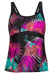 Top tankini różowo-czarny bpc bonprix collection 14