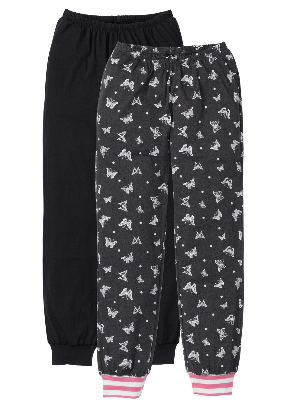 Pantaloni pijama din jerse (2buc/pac) bonprix
