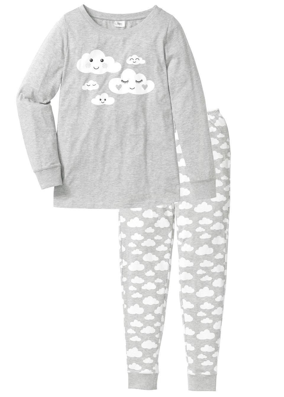 Pijama bumbac bio bonprix