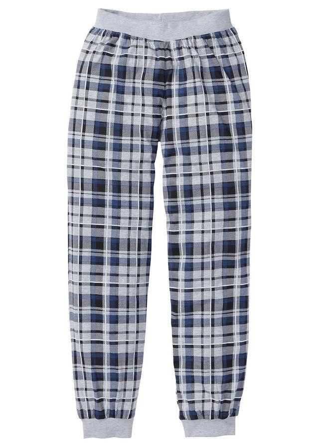 Dzsörzé pizsama nadrág világosszürke melírozott kockás • 2999.0 Ft • bonprix a70854a242