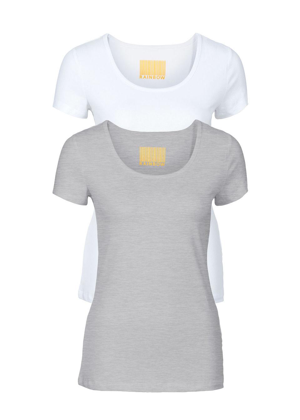 Женская футболка с круглым вырезом (2 шт.)
