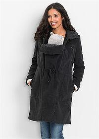 Kismama kabát baba betéttel (hátoldalra és előre) • antracitszürke  melírozott • bonprix áruház. Ezt a terméket 14 alkalommal nézték meg az  elmúlt 24 órában f82ec3d81b