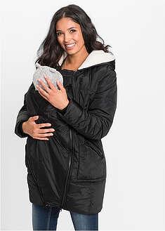 792750ae1eed9f Ocieplana kurtka ciążowa z wstawką niemowlęcą na nosidełko 219,99 zł od  83,99 zł -61%
