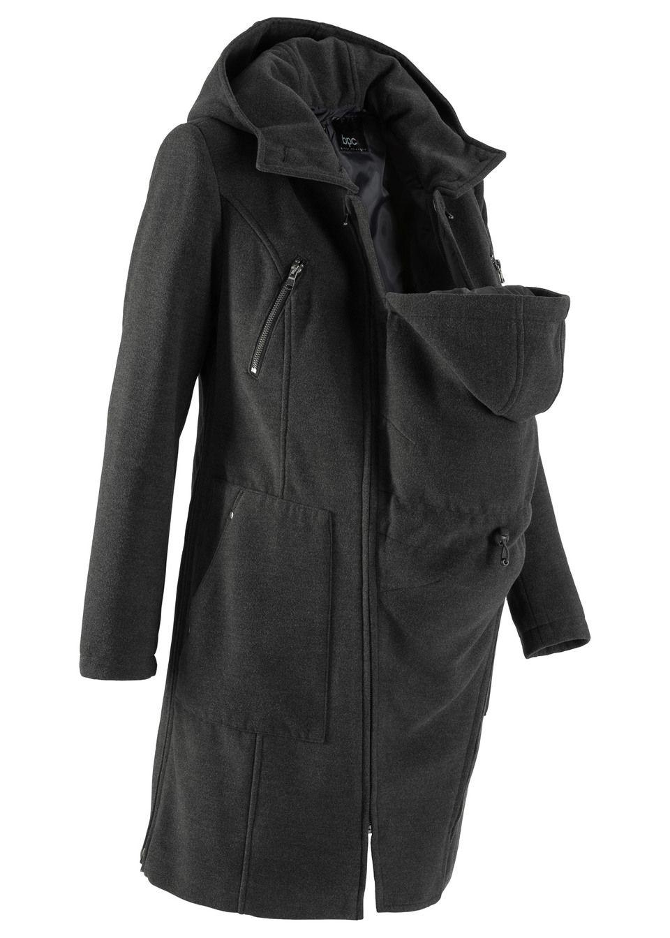 Пальто с защитной вставкой для малыша