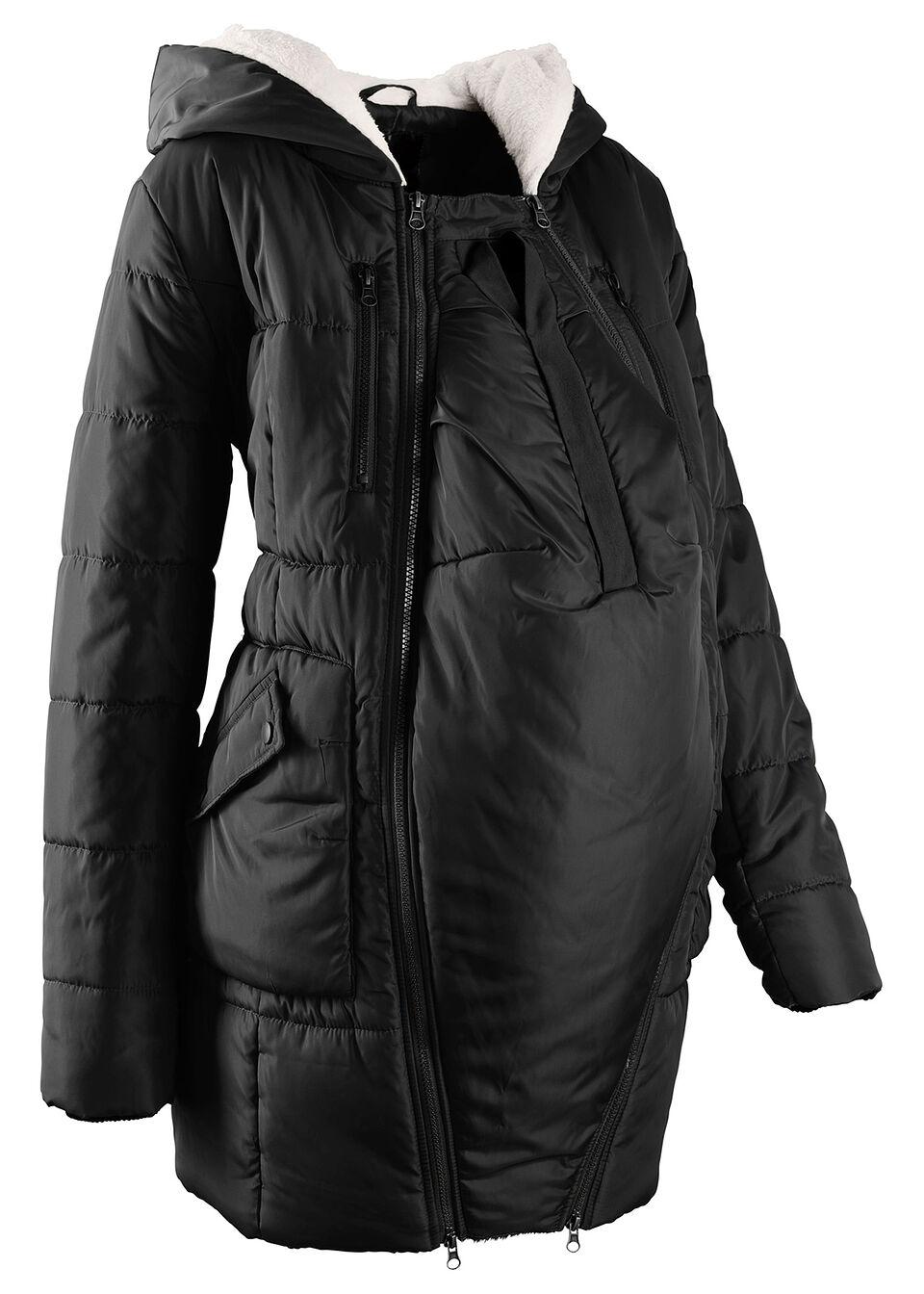 Купить Куртки и плащи, Куртка с подкладкой и карманом-вкладкой для малыша, bonprix, черный