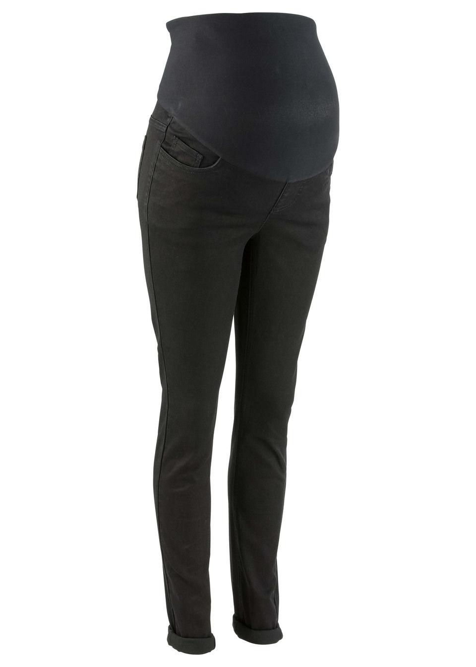 Купить Для будущих мам: джинсы суперстретч Skinny, bonprix, черный