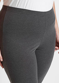 Colanţi capri stretch (2buc.) antracit melanj+negru bpc bonprix collection 4