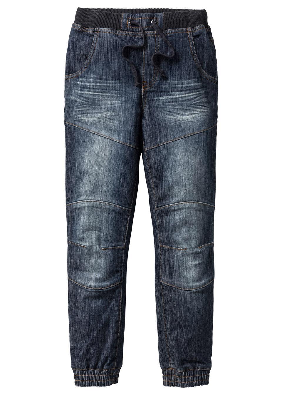 Прочные джинсы Loose Fit с уплотнениями в области колен
