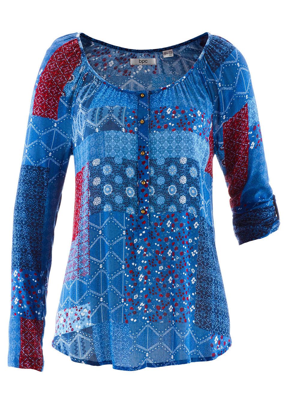 Блузка с длинным рукавом от bonprix